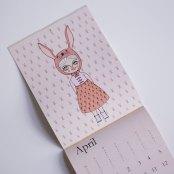 Calendar by Cara Carmina; image copyright Cara Carmina