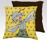 Cushion by Cara Carmina; image copyright Cara Carmina