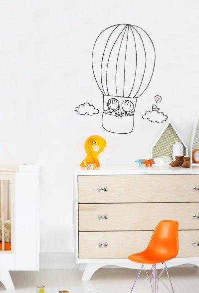 Wall decal by Cara Carmina; image copyright Cara Carmina