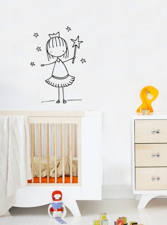 Wall decal by Cara Carmina; image copyright Cara Carmina
