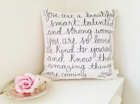 Cushion by Dayna Lee Collection; image copyright Dayna Lee Collection
