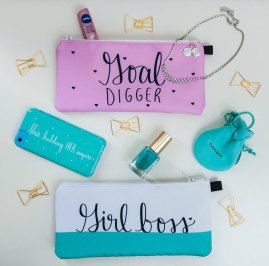 Pouches by Dayna Lee Collection; image copyright Dayna Lee Collection