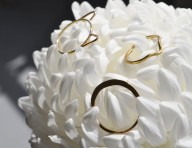 Stacking rings by White Feather Design; image copyright Erin Torrance
