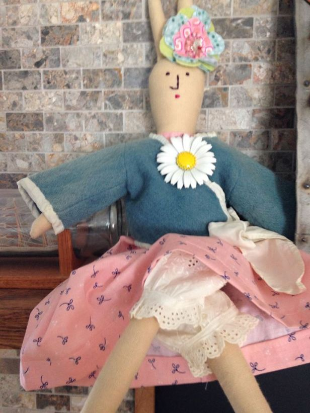 Doll by Monika McEwen Art Dolls; image copyright Monika McEwen Art Dolls