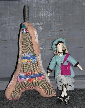 Doll by Monika McEwen Art Dolls; image copyright Monika McEwen Art Dolls