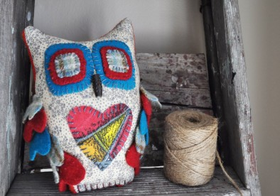 Woods-Thicket Owl by Monika McEwen Art Dolls; image copyright Erin Torrance