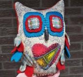 Woods-Thicket Owl by Monika McEwen Art Dolls; image copyright Erin Torrance