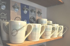 Gregory Voisin ceramics at Scout; image copyright Erin Torrance