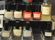 Scotch Naturals nail lacquers at Scout; image copyright Erin Torrance